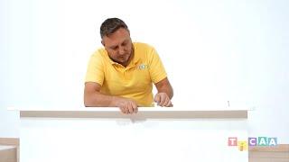 Aufbauanleitung - Ticaa Hochbett Ekki mit Rutsche