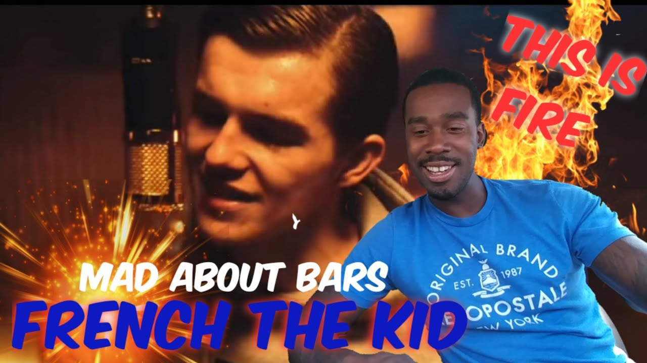 AMERICAN REACTS TO UK RAPPERS French The Kid - Mad About Bars