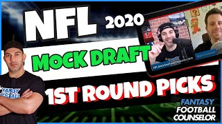 NFL Mock Draft 2020 and 1st Round Predictions