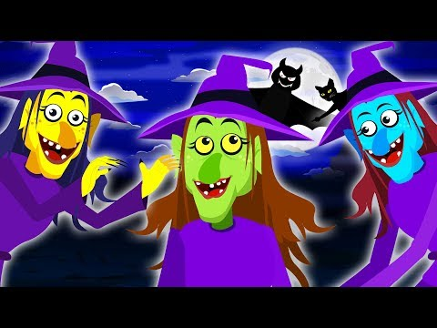 halloween-songs---three-little-witches-&-funny-skeletons-finger-family