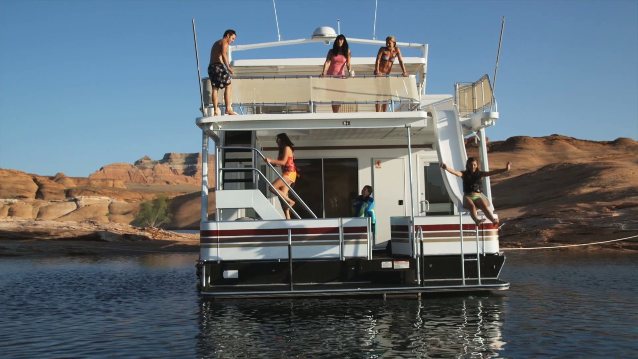 Houseboats For Rent On Lake Powell American Houseboat Rentals