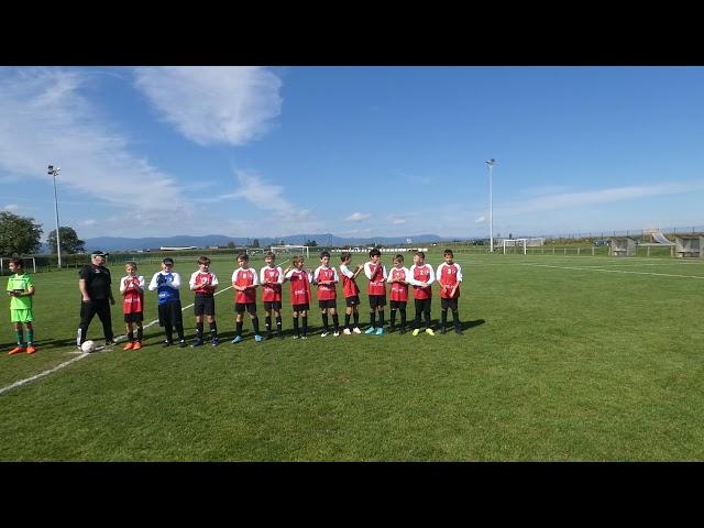 Entrée Match U13 2 AS Andolsheim vs ASHerlisheim 1er match saison