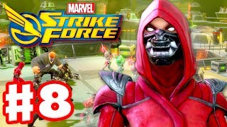 Marvel Strike Force - Gameplay Walkthrough Part 8 - Leveling Up the Hand Sorceress!