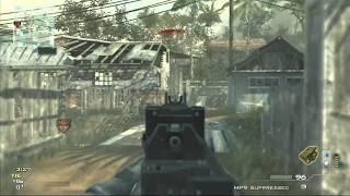 CoD MW3 100 Kills PM9 Demolition Gameplay