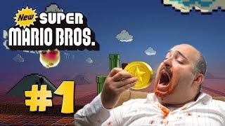 MUNTJES ETEN! - New Super Mario Bros. DS #1