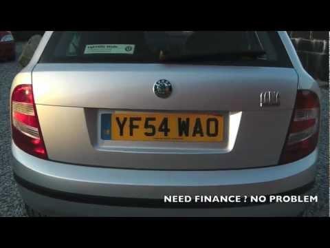 SKODA FABIA 1.2 5 DOOR YF54WAO AT www.motorclick.co.uk
