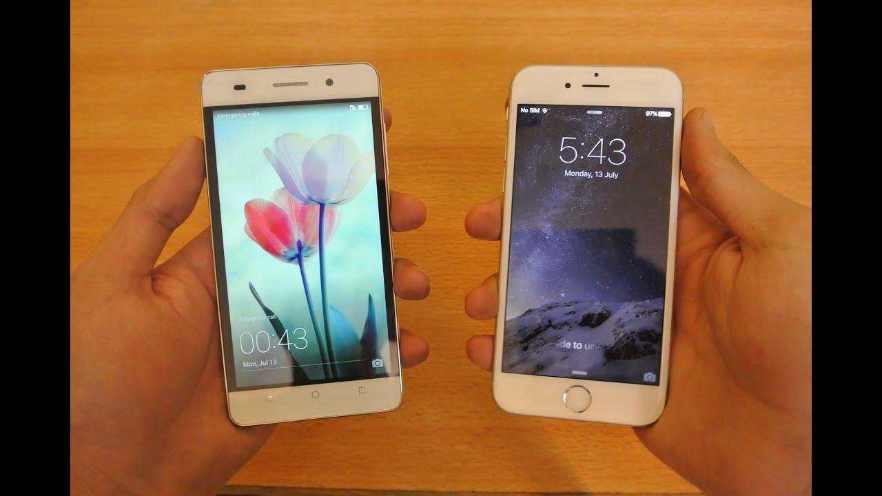 Honor 9 vs iphone 6