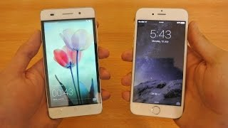Huawei Honor 4c vs iPhone 6 iOS 9 - Which Is Faster?