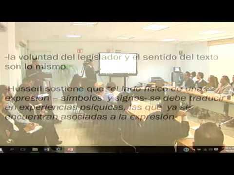 Curso de Interpretación y Argumentación Jurídica - YouTube
