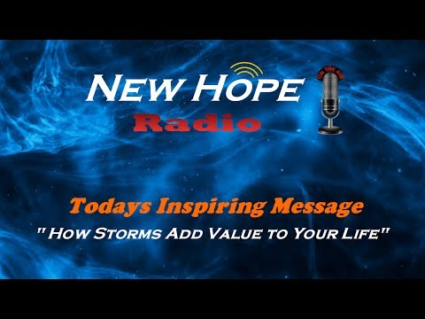 How Storms Add Value To Your Life