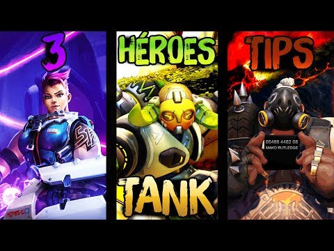 3 TANQUES 3 TIPS || Overwatch consejos Zarya, Orisa y Roadhog || Español Radiactial