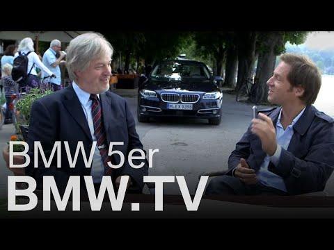 Florian Gallenberger im neuen BMW 5er.
