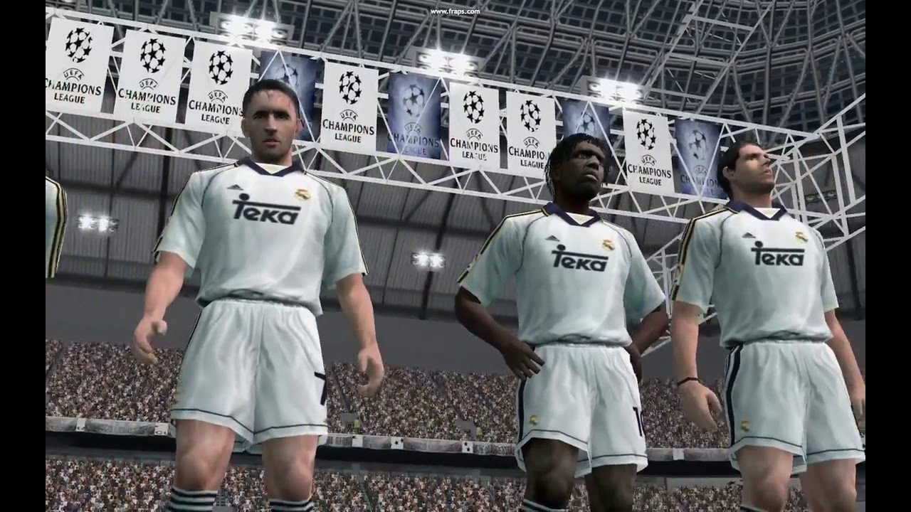 Pes 6 Real Madrid Vs Juventus 1998 Finale Champion S League Youtube