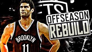 NBA 2K17 MY LEAGUE: OFFSEASON REBUILD - BROOKLYN NETS! BEST TEAM EVER!