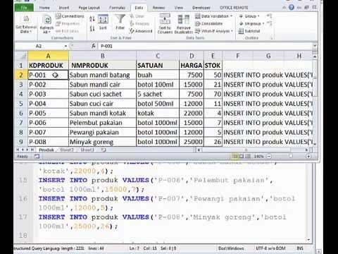 Penerapan Query Select Oracle Database Pada Tabel Part 1 Youtube