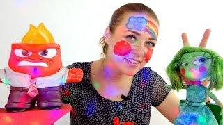 Видео для девочек.  Кукла Брезгливость идет в гости к Гневу!(Новая серия видео для девочек с героями