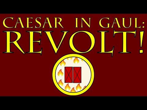 Caesar in Gaul: REVOLT! (54 to 53 B.C.E.)