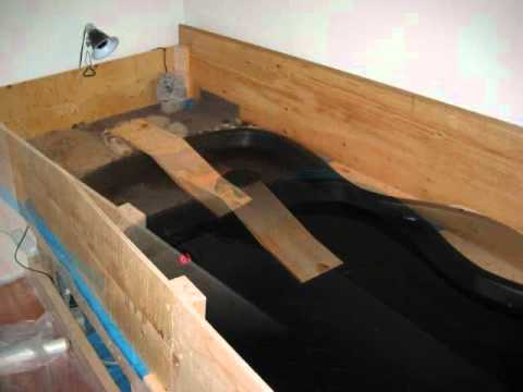 Indoor turtle pond build and turtle tank stand build youtube Diy indoor turtle pond