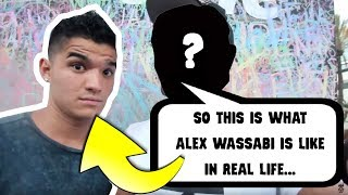 What Alex Wassabi Is Like In Real Life *Outside Of The Vlogs*