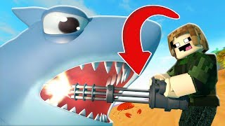 NEW Power AGAINST SHARKS l ROBLOX SHARK BITE