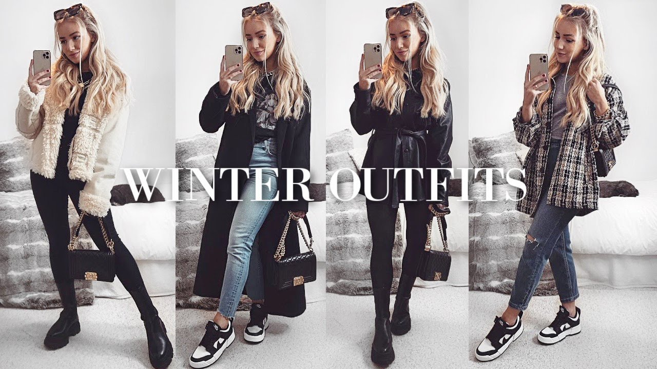 CASUAL WINTER OUTFITS / PETITE FASHION LOOKBOOK OUTFIT IDEAS 2021 AD