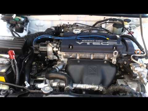 90 91 92 93 Honda Accord CB7 JDM H22A / H23A Swap – First Start