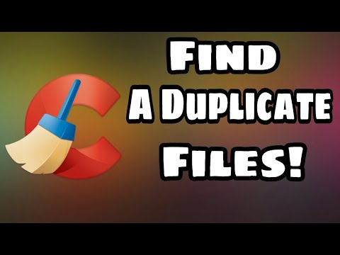Find Duplicate Files And Delete On Pc