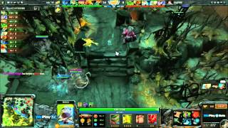 Na`Vi vs Empire - Game 2 (WePlay - WB Semi-Final) [DENDI PUDGE BLINK!!!]