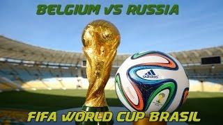 FIFA World Cup 2014 Brasil - Belgium vs Russia 1:0