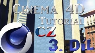 Cinema 4D 3  díl CZ [Tutorial]   Obloha + změna času