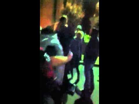Drunk fights! Willits, CA