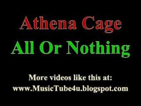 Athena Cage - All Or Nothing