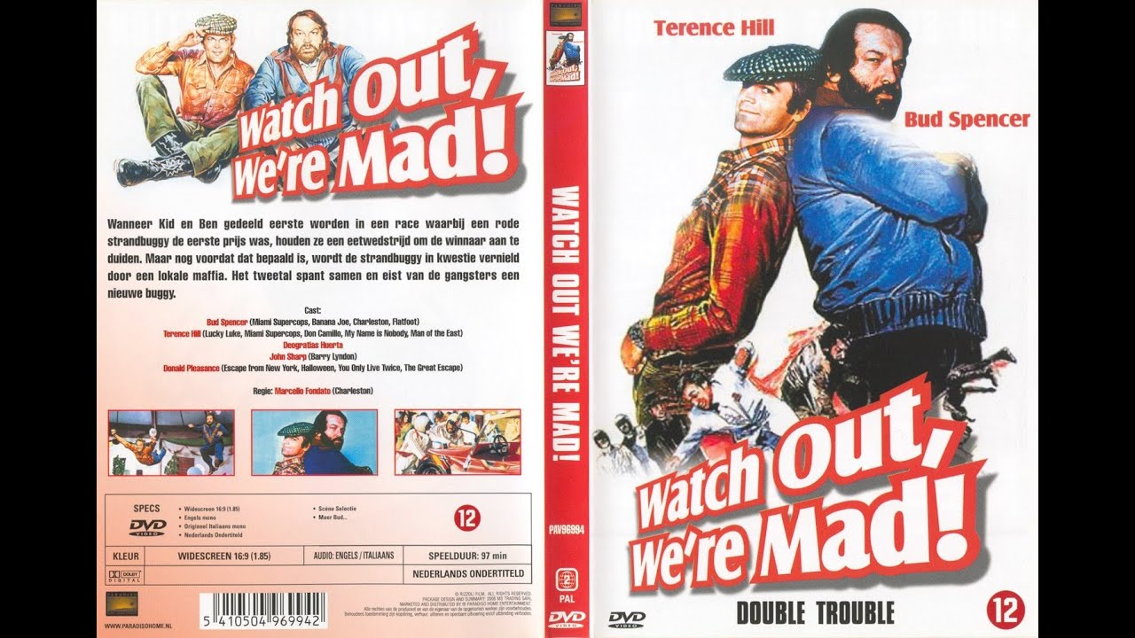 Download Bud Spencer & Terence Hill 1974 Watch Out Were Mad