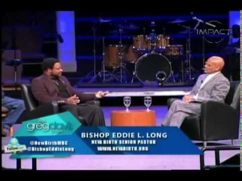 Bishop Eddie Long Interview With Greg Davis