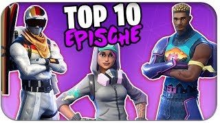 AS GOOD AS LEGENDARY 🏅 TOP 10 BEST EPIC SKINS | Fortnite Ranking Deutsch German