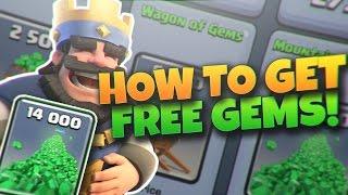 קלאש רויאל - ספיישל איך להשיג יהלומים בחינם במשחק  ההסבר המלא והמפורט !!
