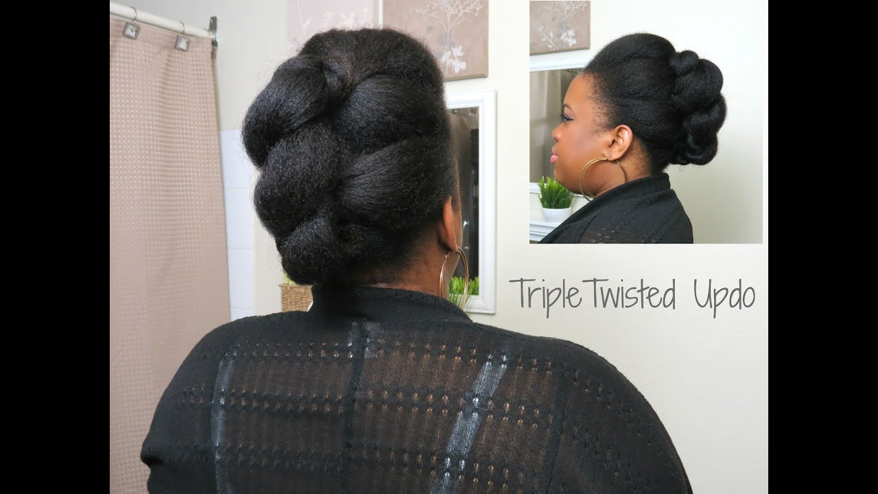 Protective Updos For Short Natural Hair