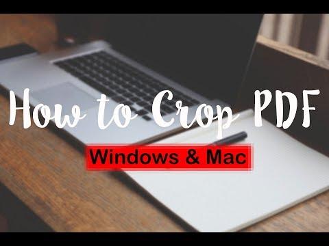 How To Crop A PDF (Windows & Mac)