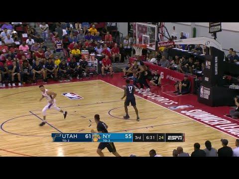 3rd Quarter, One Box Video: New York Knicks vs. Utah Jazz