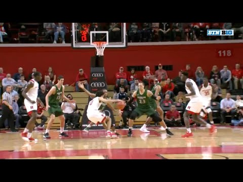 Cleveland State at Rutgers - Men's Basketball Highlights