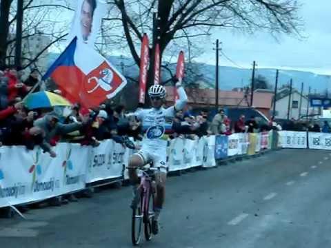 Czech cyclocross national championship Uničov 8.1.2012 - II. cíl