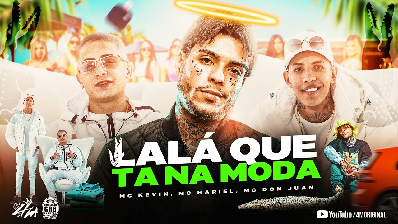 SET LALA QUE TA NA MODA - MC Kevi, MC Hariel, MC Don Juan, MC Ryan SP