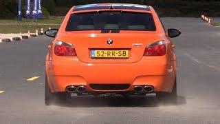 BMW M5 E60 V10 w/ LOUD Eisenmann Race Exhaust! Insane SOUNDS! thumbnail
