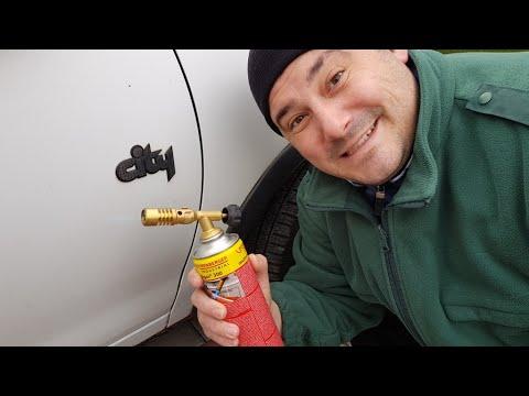 Műanyag Felújítás Tűzzel Egy Opel Corsán!
