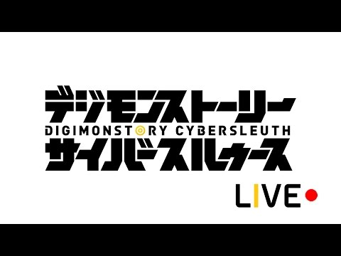 [Live] Digimon Story Cyber Sleuth