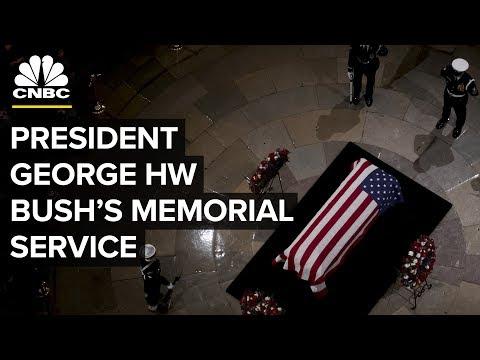 President George HW Bush funeral — Wednesday, Dec. 5,  2018