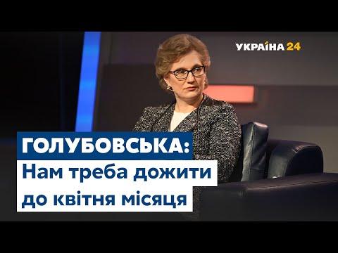 Голубовська про коронавірус:
