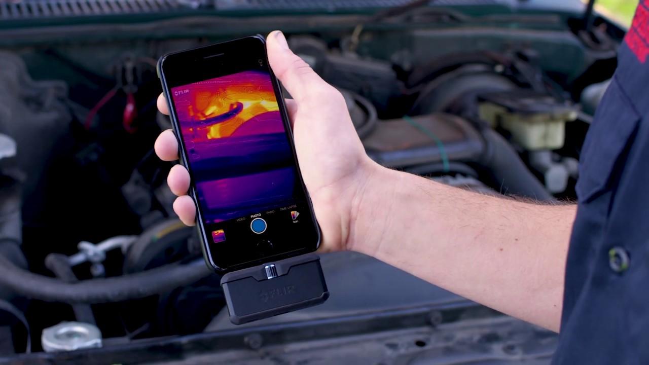 как сделать тепловизор из мобильного телефона