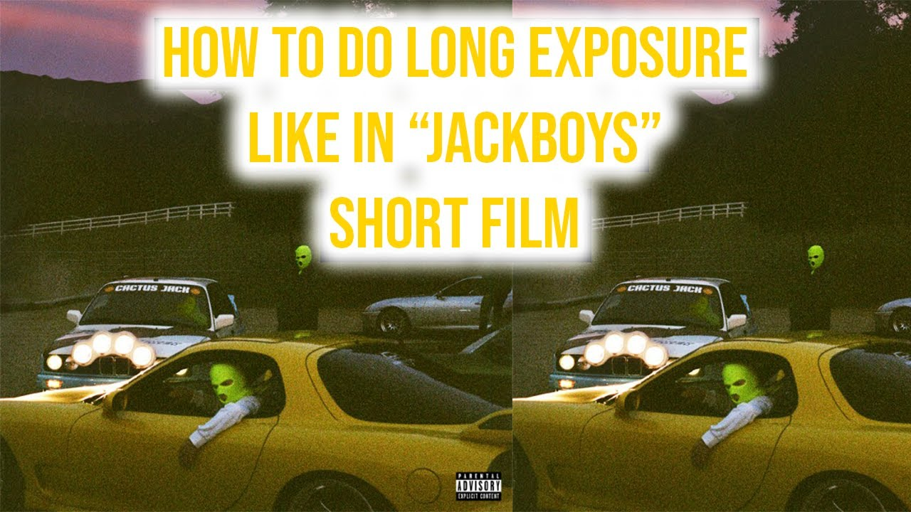 Travis Scott Short Film Jackboys Video Effect I Long Exposure