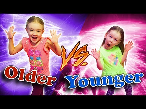 Older Siblings vs Younger Siblings!! Sisters Trinity and Madison